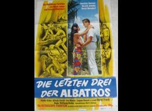c398/ Kinoplakat Die letzten Drei der Albatros - Constantin-Film 1965 Poster