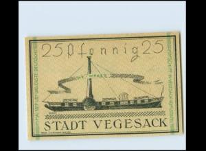 W0Z34/ Notgeldschein Stadt Vegesack 1921