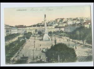 W1C67/ Portugal Lissabon 1909 AK