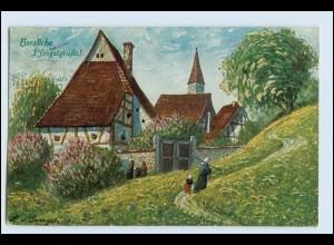 W1A80/ Pfingsten schöne AK Verlag: T.S.N. 1925