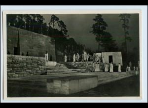 W1E71/ Olympiade Spiel auf der Dietrich Eckardt-Bühne Foto AK Berlin 1936