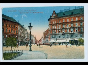 W1H14/ Budapest Vaross Platz Ungarn AK 1915