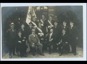 W1H37/ Studenten Studentika Foto AK 1913