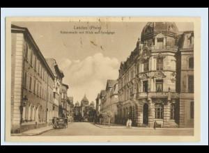 W1J26/ Landau Pfalz Reiterstr.mit Synagoge AK Judaika ca.1920