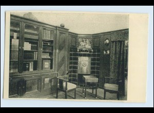 W1K84/ Basel Raumkunst Ausstellung 1909 Gewerbe-Museum AK