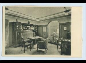 W1K87/ Basel Raumkunst Ausstellung 1909 Gewerbe-Museum AK