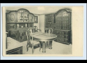 W1K89/ Basel Raumkunst Ausstellung 1909 Gewerbe-Museum AK