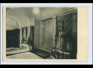 W1K90/ Basel Raumkunst Ausstellung 1909 Gewerbe-Museum AK