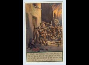 Y885/ Paul Hey AK Unsere Feldgrauen 1. Weltkrieg Deutschtum im Ausland