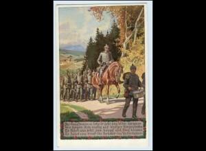 Y1131/ Paul Hey AK Unsere Feldgrauen 1. Weltkrieg Deutschtum ca.1915