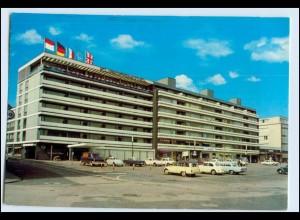 W1R49/ Recklinghausen Europa-Hotel 1976 AK VW Käfer