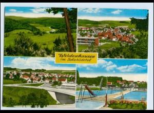 W1U82/ Weidenhausen Gladenbach im Salzbödetal 1981 AK