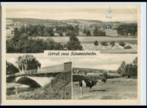 W1W19/ Schweicheln Hiddenhausen Foto AK 1957