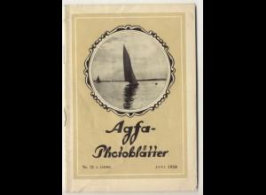 c329/ Agfa Photo Blätter Heft 12 1928