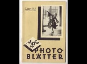 c325/ Agfa Photo Blätter Heft 8 1929