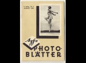 c324/ Agfa Photo Blätter Heft 2 1928