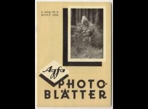c323/ Agfa Photo Blätter Heft 9 1929