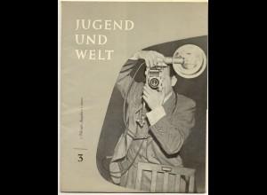 c318/ Zeitschrift Jugend und Welt 1957 Fotograf