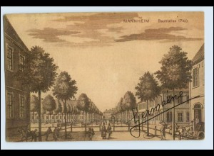 W2L25/ Mannheim 300 jähriges Jubiläum AK 1908