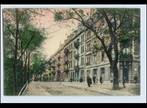 W2L26/ Mannheim Lindenhof Rennershofstr. AK 1907