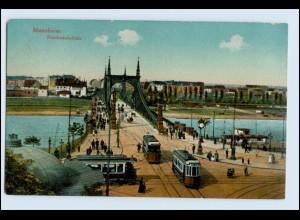 W2M27/ Mannheim Friedrichsbrücke AK