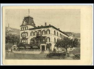 W2P04/ Rüdesheim Hotel Jung AK ca.1935