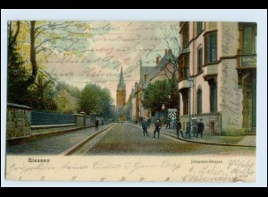 W2L99/ Gießen Johannes Str. AK 1907
