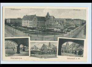 W2S72/ Offenbach Friedrichschule Waldstr. AK ca.1912
