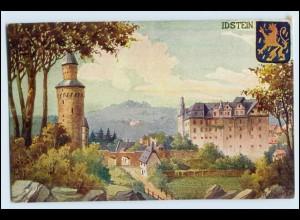"""W2S90/ Idstein """"Die Burgen des Taunus"""" AK 1906"""