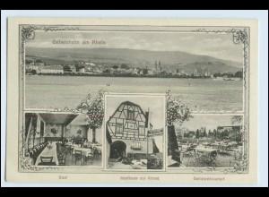 W2U53/ Geisenheim am Rhein Gasthaus zur Krone AK