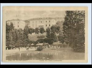W2U28/ Bad Schwalbach Partie mit Hotel Continental 1916 AK