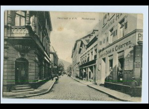 W2W49/ Neustadt an der Haardt / Weinstraße Poststr. AK 1919
