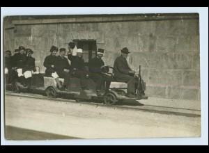 W5R38/ Berchtesgaden Einfahrt ins Salzbergwerk Foto AK ca.1920