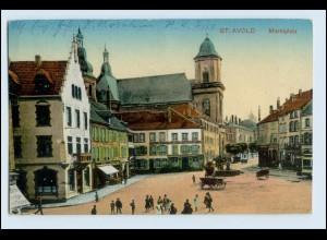 W5C45/ St. Avold Marktplatz AK 1916