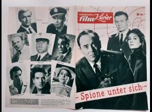 C4298/ Filmprogramm IFK 59 Spione unter sich Henry Fonda, Peter van Eyck