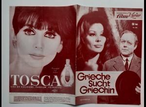 C4302/ Filmprogramm IFK Nr.140 Griche such Griechin Heinz Rühmann, Irina Demick