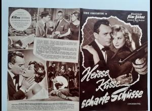 C4305/ Filmprogramm IFB 4335 Heisse Küsse scharfe Schüsse Eddi Constantine
