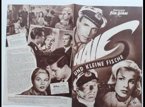 C4308/ Filmprogramm IFB 3924 Haie und kleine Fische Hansjörg Felmy, Mady Rahl