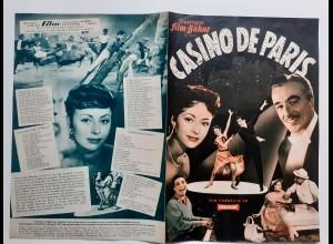 C4309/ Filmprogramm IFB 3930 Casino de Paris Caterina Valente, Vittorio De Sica
