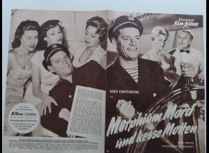 C4312/ Filmprogramm IFB 4041 Morphium, Mord und kesse Motten, Eddi Constantine