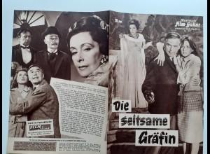 C4313/ Filmprogramm IFB 5931 Die seltsame Gräfin Edgar Wallace - J. Fuchsberger
