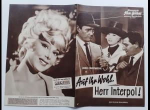 C4317/ Filmprogramm IFB 5827 Auf Ihr Wohl, Herr Interpol! Eddi Constantine