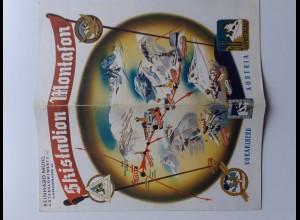 C4390/ Skistation Montafon Vorarlberg Faltblatt 1959/60