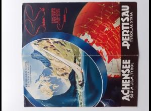 C4396/ Pertisau Achensee Tirol Österreich Faltblatt ca.1935