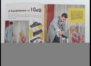 C4412/ Piccolo Staubsauger, Werkzeug, Küchengeräte, P Heft Werbung ca.1960-65