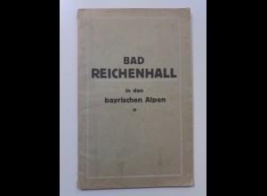 C4550/ Bad Reichenhall Illustr. Badprospekt ca.1920