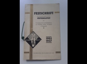 C4552/ Stiftnungsfest der Landschaftsgärtner Hamburg Altona + Wandsbek 1927