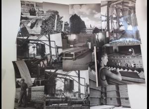 C4563/ 10 x Foto August Moralt Bad Tölz Holzwerk Türen Platten ca.1955 24x18cm