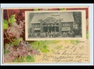 W3N28/ Dresden Baufach-Ausstellung Knackstedt & Näther AK 1900