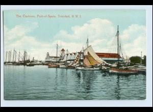 W3H29/ Trinidad Port-of-Spain AK Hafen ca.1912